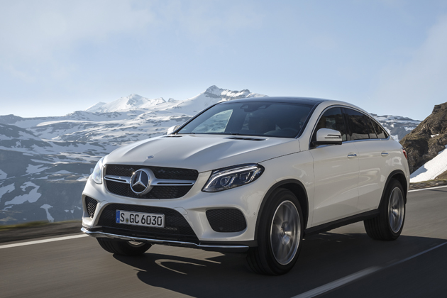 GLE 350d Coupe: DiamantweiÁE Leder LUGANO Sattelbraun/Schwarz